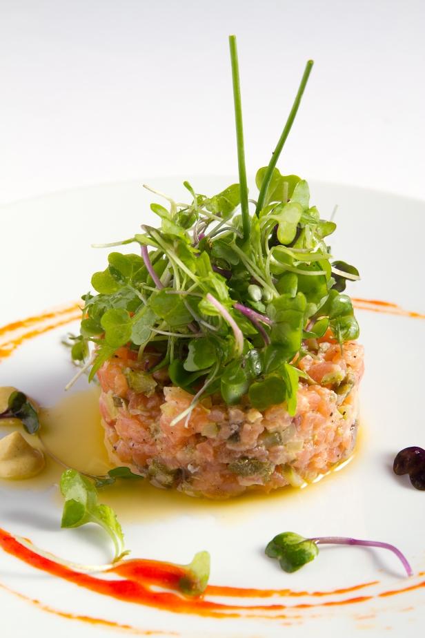 Tartar salmón Palio Jóvenes Restauradores