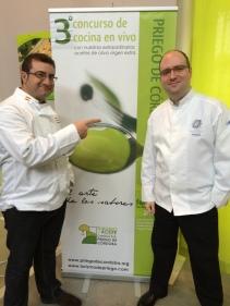 Concurso cocina Córdoba Rafa Carrillo y Sergio Fernández Guerrero
