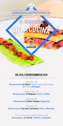 Terraza Carmona JRE Jornadas toro cocina 2014