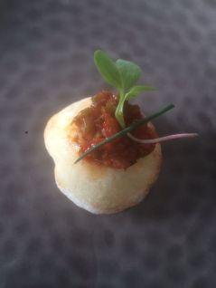 Palio (Ocaña, Toledo) Airbaguettes de pisto manchego